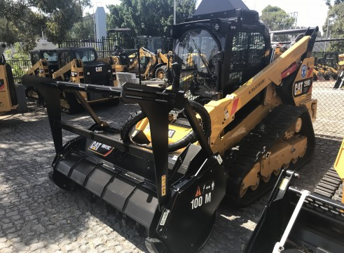 Caterpillar 299D Posi-Track w/Forestry Mulcher 3