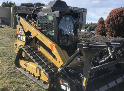 Caterpillar 299D Posi-Track w/Forestry Mulcher 5