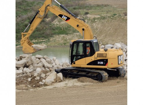 Caterpillar 312DL Excavator