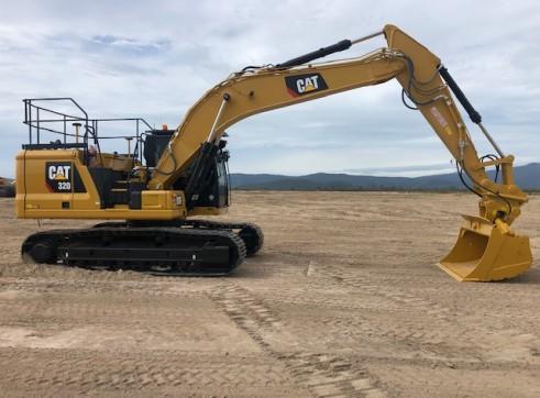 Caterpillar 320 Next Gen Excavator