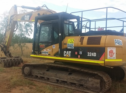 24T Caterpillar 324DL Excavator 3