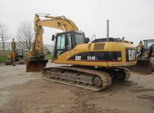 Caterpillar 324DL Excavator (GPS)