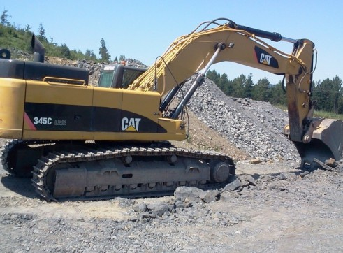 Caterpillar 345CLME Excavator