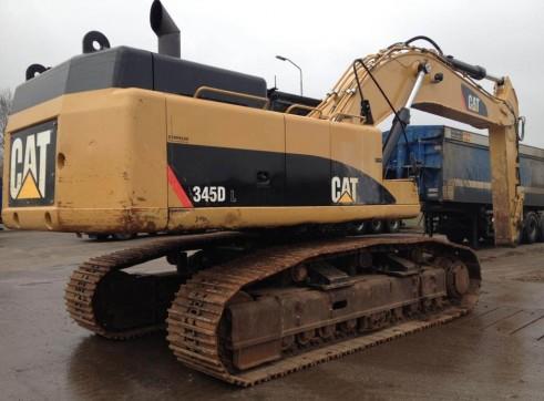 Caterpillar 345DLME Excavator