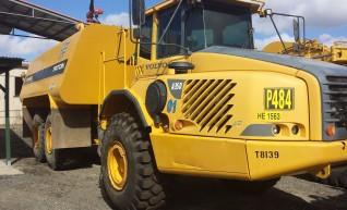 Caterpillar 40,000Ltr Articulated Water Truck 1