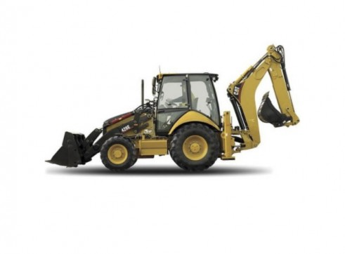 Caterpillar 428E 4x4 Backhoe Loader 1