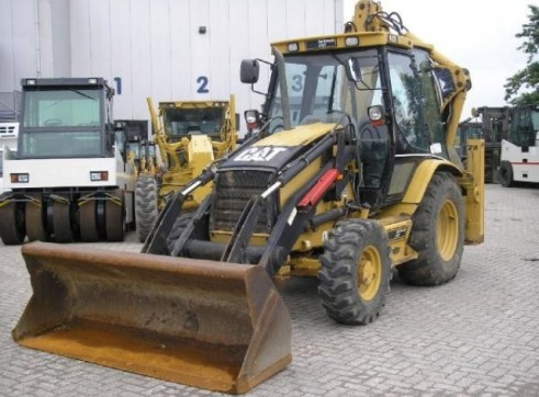 Caterpillar	 432D Backhoe* 1