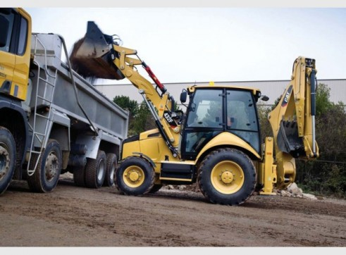 Caterpillar	 432F Backhoe 1
