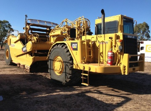Caterpillar 623F Elevated Scraper 1