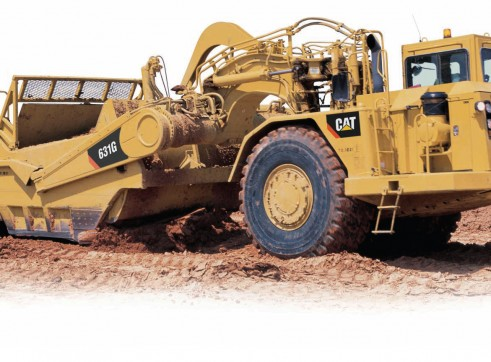 Caterpillar	 631G Scraper 1