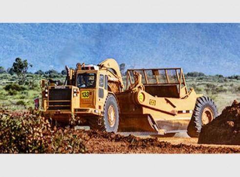 Caterpillar 651E Scraper 1