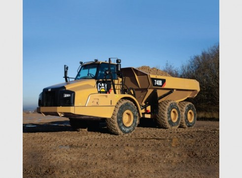 Caterpillar	 740 Artic Dump Truck 2