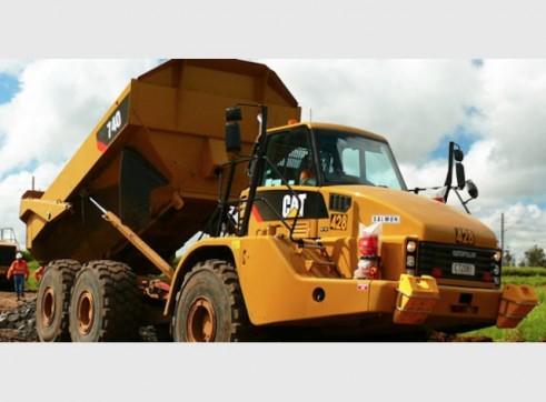 Caterpillar 740 Artic Dump Truck 2