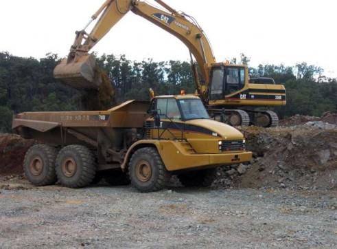 Caterpillar 740 Artic Dump Trucks 2