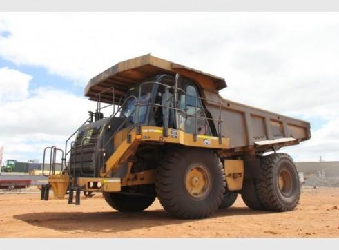 Caterpillar 740 Articulated Dump Truck 1