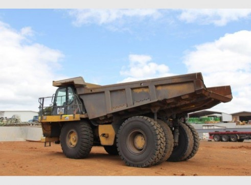 Caterpillar 740 Articulated Dump Truck 2