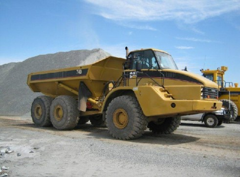 Caterpillar 740B Articulated Dump Trucks 1