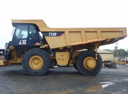 Caterpillar 773-F Dump Truck 1