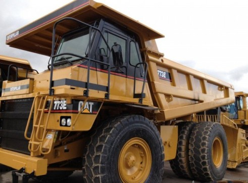 Caterpillar 773E Dump Truck (2 units available) 1