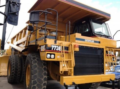 Caterpillar 773E Dump Truck (2 units available) 2