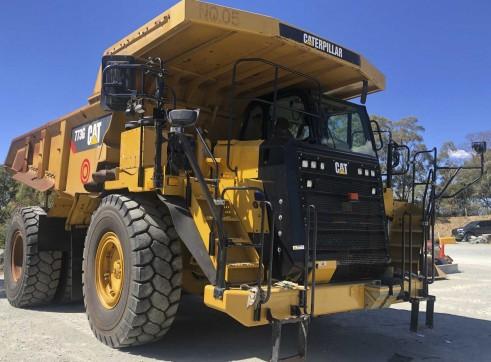 Caterpillar 773G Dump Truck 1