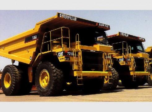 Caterpillar 775D Dump Truck 1