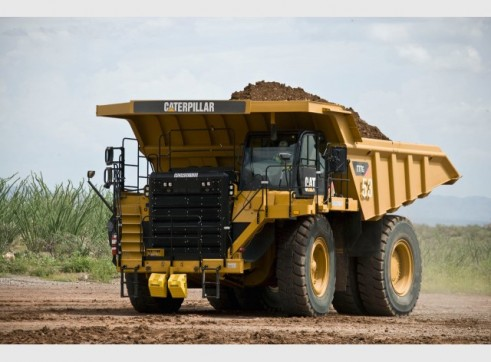 Caterpillar 775F Rigid Dump Truck 1