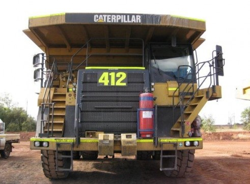 Caterpillar 777F Dump Truck 1