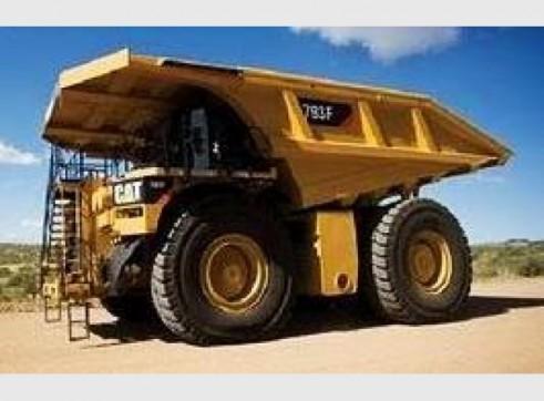 Caterpillar 793F Dump Trucks x 6 1