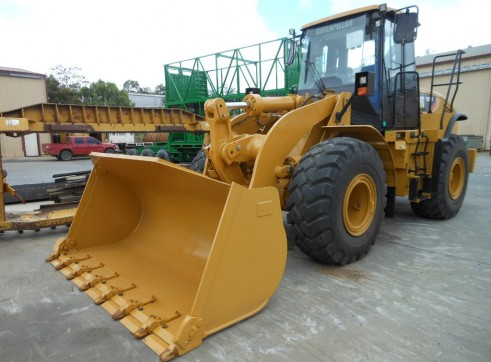 Caterpillar 950H Wheel Loader 1
