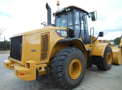 Caterpillar 950H Wheel Loader 3