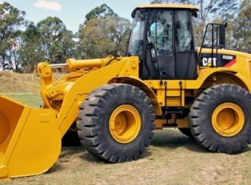 Caterpillar 950H Wheel Loader 1