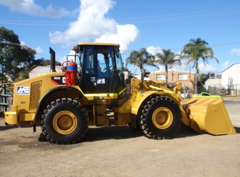 Caterpillar 962-H Wheel Loader 1