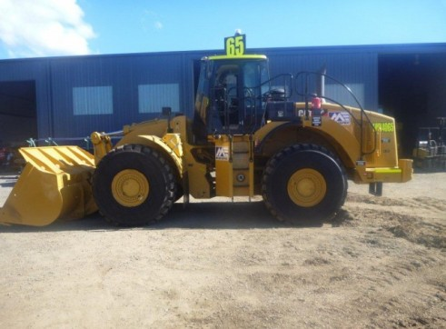 Caterpillar 980-H Wheel Loader 1
