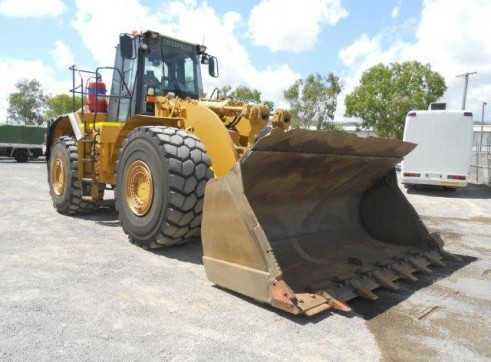 Caterpillar 980G Wheel Loader 3
