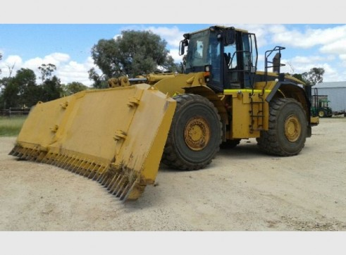 Caterpillar 980G Wheel Loader 4