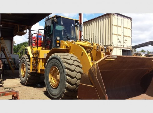 Caterpillar 980G Wheel Loader 1