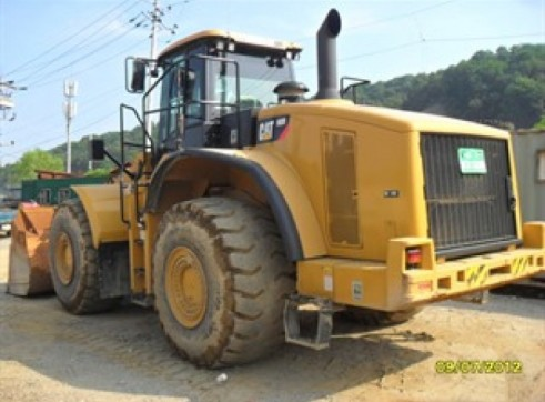 CATERPILLAR 980H Wheel Loader 2