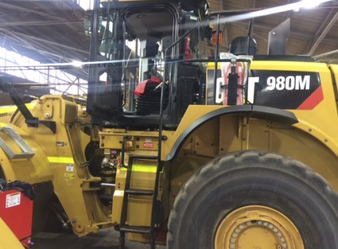 Caterpillar 980M Wheel Loader 2