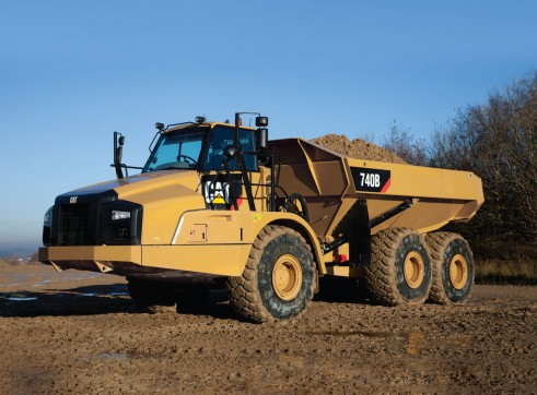 Caterpillar	 Articulated 740 Dump Truck 2