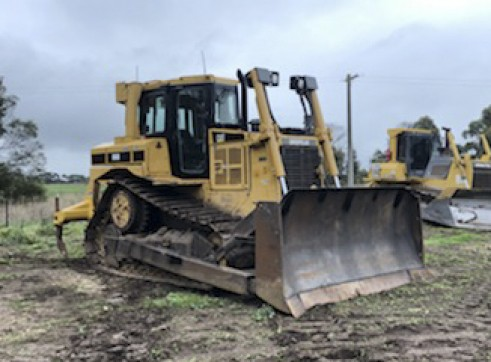 Caterpillar D6 Dozer w/stickrake 1
