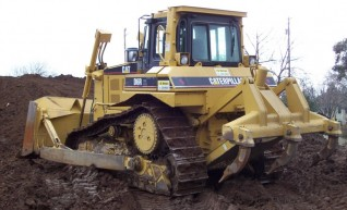Caterpillar D6 Dozer 1