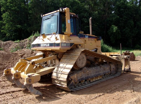 Caterpillar D6 Swamp Dozer 1