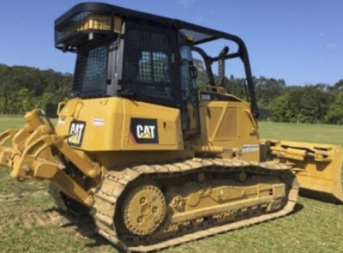 Caterpillar D6K Dozer w/6 way PAT blade & GPS