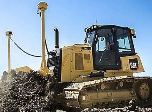 Caterpillar D6K Dozer w/6 way PAT blade & GPS 2