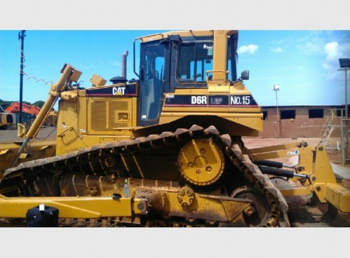 Caterpillar D6R LGP Bulldozer w/ Topcon GPS 1