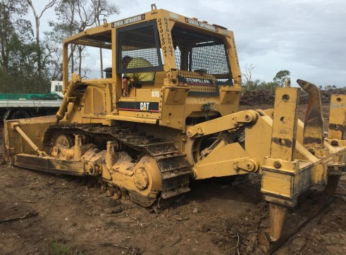 Caterpillar D7G Dozer w/stickrake 1