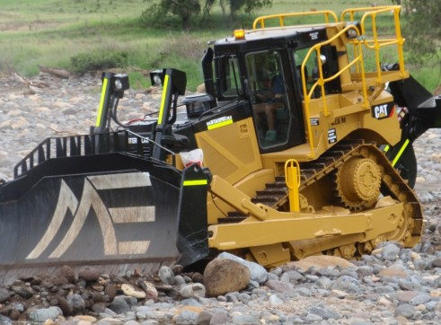 Caterpillar D8-Tracked Dozer 1