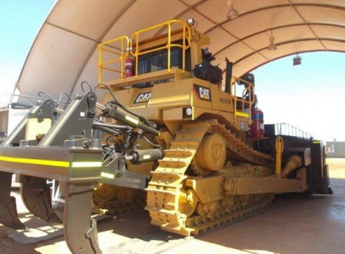 Caterpillar D9-Tracked Dozer 3