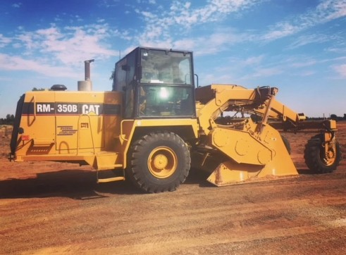 Caterpillar RM 350B Road Reclaimer / Mixer 1